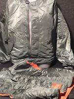 Vtg Schott nyc bomber flight jacket spec 86 removable vest schott military flyer