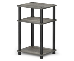 End Table Night Stand 3 Tier Tables Furniture Office Home Modern Decor Small New