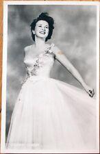 1930 Realphoto Movie Star Postcard: Deanna Durbin, 'Deanne'