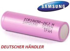 Samsung ICR18650-26J ICR 18650 - 26J  3,6V-3,7V 2600mAh Li-Ion 5,2A Entladestrom