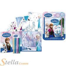 Disney Frozen Vestido Diseño Libreta de Dibujo niñas Chicas Para Colorear