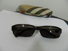 lunettes de soleil + boitier Burberry monture plastique branches métal tbe  (B13 d334bc79e4b6