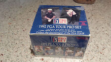 1992 PGA Tour Pro Set, 12 Photo and Stat Cards, Brand New, Wrapped Package