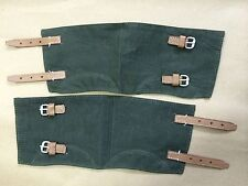 WWII German Canvas/Gaiters Pair Repo