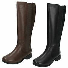Padders Ladies Wide Fitting Long Boots 'Myra'