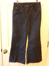 Calvin Klein Jeans Blue Pants Women's 6 Stretch Cotton Distressed Style