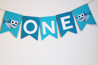 BABY SHARK BANNER HAPPY BIRTHDAY BUNTING PARTY LOLLY LOOT DECORATION DECORATION