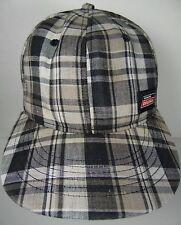 PLAID MULTI COLOR GENUINE DICKIES WORKWEAR APPAREL CLOTHING ADVERTISING HAT CAP