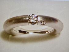 Designer BRILLANT Spannring mit Steg 0,30 ct.  alle Ringgrößen