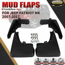 Car Custom Mud Flaps Splash Guards for Jeep Patriot MK 2011-2016 Fender Flares Mudflaps Mudguards Front and Rear Wheel 4Pcs