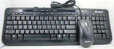 Microsoft 600 Wired Keyboard & Optical Mouse Set