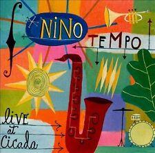 Nino Tempo Live at Cicada CD Atlantic Jazz
