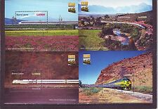 SIERRA LEONE - SGMS4300 MNH 2004 BICENTENARY OF STEAM LOCOMOTIVES