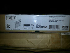 CVES1RNE, EMERGENCY LIGHT DUAL-LITE HUBBELL FIRE EXIT SIGN NEW IN BOX