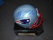 Patriots Rob Gronkowski Full Size Replica Helmet Autographed