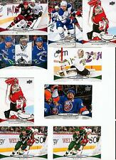 2011-12 Upper Deck Series 1 hockey Complete your Set U-pick 20 cds STARS inc.
