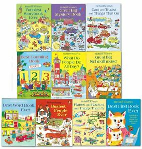 Richard Scarry's Best Collection Ever 10 Books Collection Set
