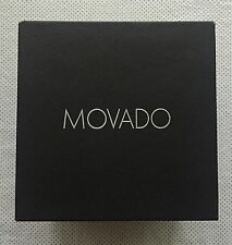 Movado Datron Black Mens Watch,Stainless Steel, Sapphire Crystal, Model 606535
