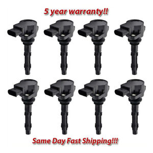 OE Quality Ignition Coil on Plug Set 8PCS. for 2005-2010 Mercedes-Benz / Dodge