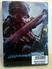 Xbox 360 Steelbook: Metal Gear Rising Revengeance, Render Commando, New! (4844)