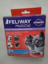 Feliway Multicat 30 Day Starter Kit Plug In Diffuser & Refill 48 ml Exp 2020