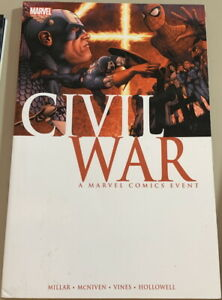 MARVEL Graphic Novel Comics CIVIL WAR #1-#7 Mark Millar 2016 TPB NM!