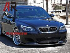 Fit  BMW E60 M5 2004-2010 HM Style Carbon Fiber Front Bumper Add on Lip