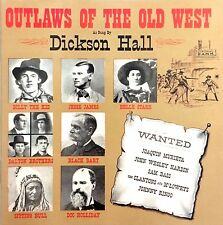 Dickson Hall CD Outlaws Of The Old West - Germany (M/M)