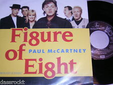 "7"" - Paul McCartney (Beatles) Figure of Eight & Ou est le soleil - 1989 # 0556"