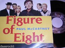"7"" - Paul McCartney (Beatles) Figure of Eight & Ou est le soleil - 1989 # 0556"