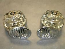 LOUD CHROME Hi Low Street Hot Rod Rat Rod Horn Set FACTORY 2NDS Horns Nice Deal!