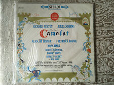 Camelot Lp SEALED Lerner & Lowe Richard Burton & Julie Andrews