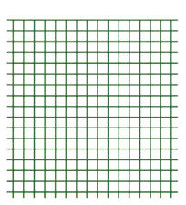 VERDELOOK Rete metallica multiuso plastificata Plastiquadra recinzioni 0.5x5 m