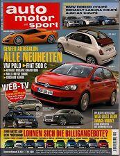 Auto Motor und Sport Heft 6/2009 - Jaguar XK-R, Kia Soul 1.6 CRDi, Ford Focus RS