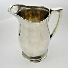 Vintage Classic Wallace Le Moderne 3-1/2 Pint Sterling Silver Water Pitcher