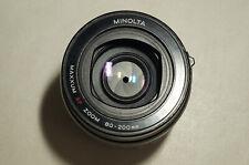 Minolta AF Zoom 80-200mm f4.5-5.6 Lens - Sony A-Mount