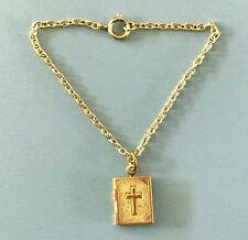 Vintage Doll Jewelry Bible Locket Necklace Toni Cissy Miss Revlon Arranbee Nun