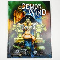 Azpiri DEMON WIND Hardcover Erotic graphic novel HEAVY METAL MAGAZINE comic book