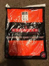 Radians SV22 Polyester Mesh Eco Class 2 Hi Vis Zipper Closure Vest Two-Tone Trim