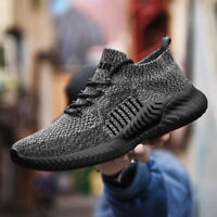 Men's Casual Sneaker Ultralight Breathable Sports Running Shoes Outdoor Athletic