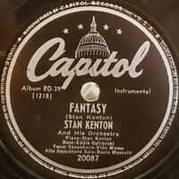 Stan Kenton & His Orch - Willow Weep For Me / Fantasy - 1946 Capital Jazz