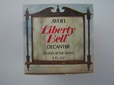 Avon Decanter Liberty Bell Decanter Oland After Shave 5 oz Full Original Box