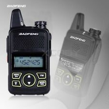 Walkie Talkie Baofeng BF-T1 MINI Radio UHF 400-470MHz +FM Transceiver + Earpiece