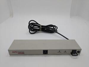 APC SurgeArrest NET9RM 9-Outlet 120V 15A Rack Mountable PDU Surge Protector