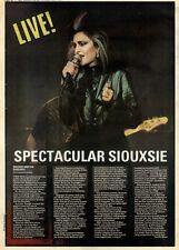 4/12/82PGN44 LIVE REVIEW & PICTURE : SIOUXSIE AND THE BANSHESS
