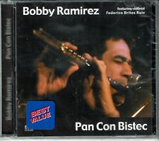 Bobby Ramirez Pan con Bistec Featuring Federico Brito   BRAND NEW SEALED CD