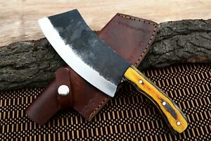 MH Knives Heavy Duty Chef Handmade Knife Meat Cleaver Butcher Chopper 29S
