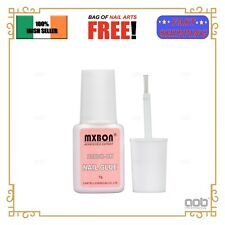 Professional 7g Nail Glue with Brush for Acrylic False Tips Rhinestones Gems EU