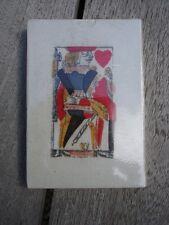 Ancien jeu de cartes pour piquet, Britannie, 18e, 1780 (Neuf)