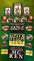 West coast theme sticker pack NWA Snoop Dogg  ICE CUBE EAZY E MC REN, MC EIGHT